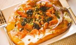 Wolfgang Puck's Spago-Style Smoked Salmon Pizza