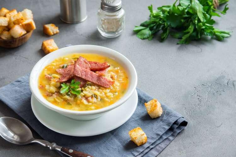 Split Pea Soup Recipe From Andrea Correale