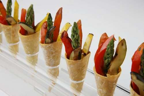 balsamic-grilled-vegetable-cone