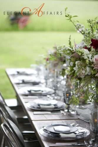 Flower and Dining Plates