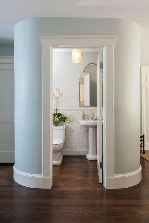 Designate a guest bath